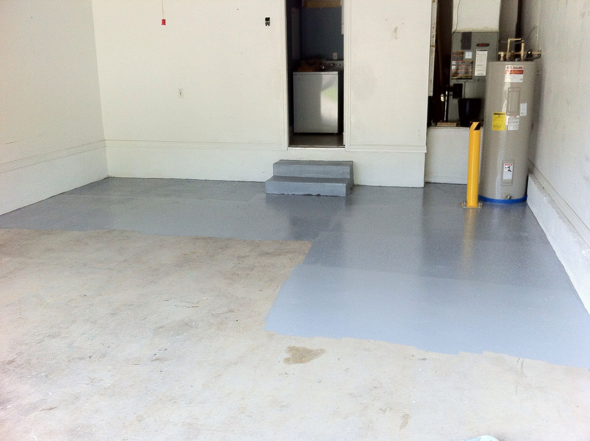 diy coating vinyl vinylchip flooring garage chip epoxy floor