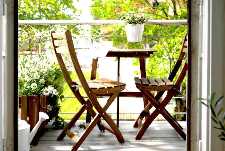 Cinco ideas para amueblar terrazas peque as - Muebles para terraza pequena ...