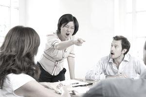 An argumentative board member.