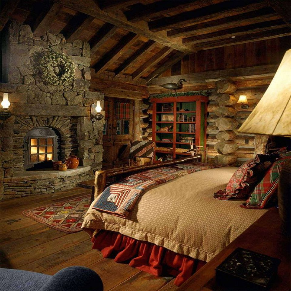Log Cabin Bedroom: 100 Stunning Master Bedroom Design Ideas And Photos