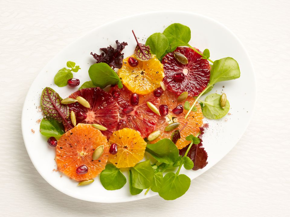 Blood Oranges on a Salad