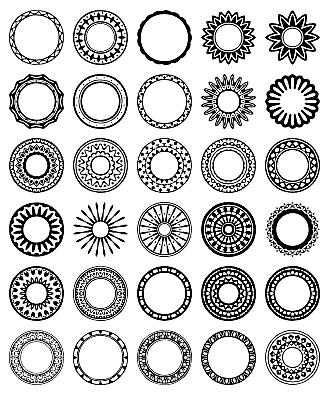 circle border
