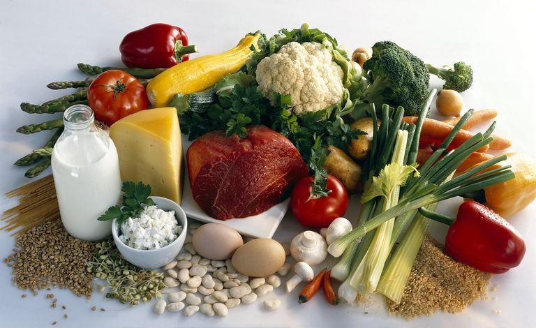 Healthy B vitamin rich foods