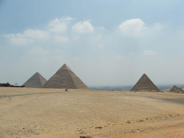 New Seven Wonders: Pyramids at Giza Plateau
