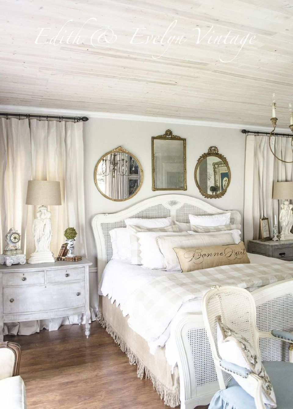 Serene French country bedroom. French Country Bedroom Decorating Ideas and Photos