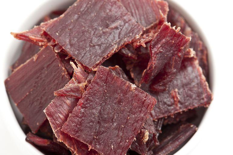 Beef Jerky is good for emergency food pantries.