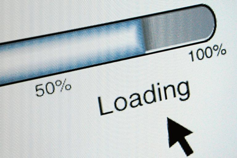 Screenshot of a loading screen
