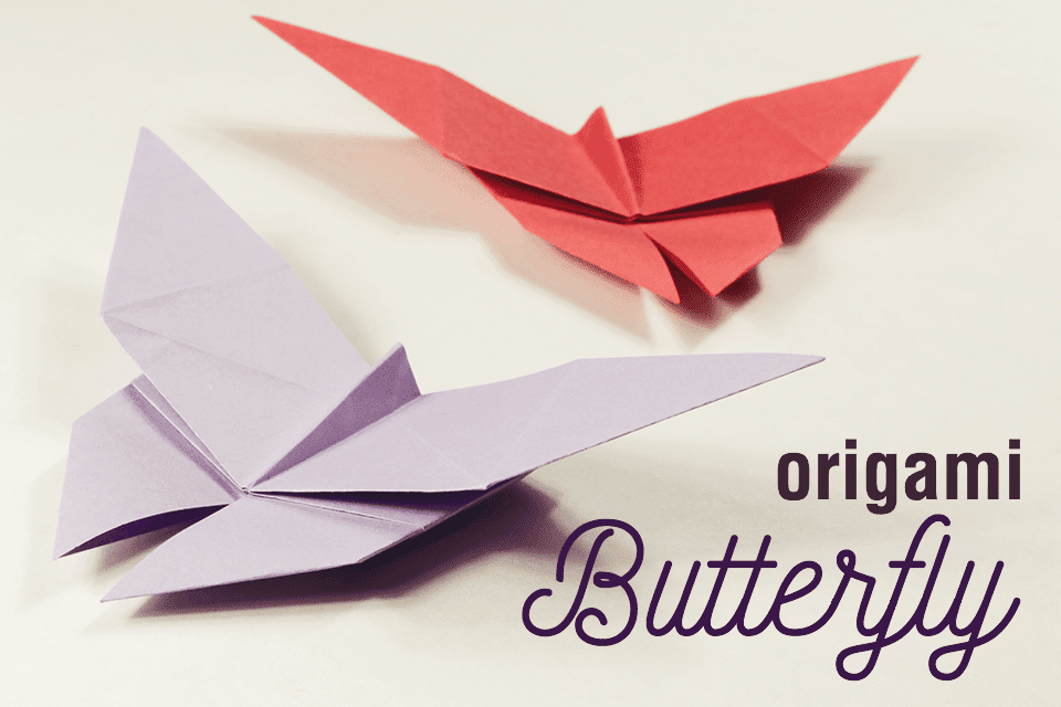 Origami Butterfly Tutorial