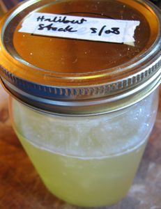 Good fish or chicken stock is important