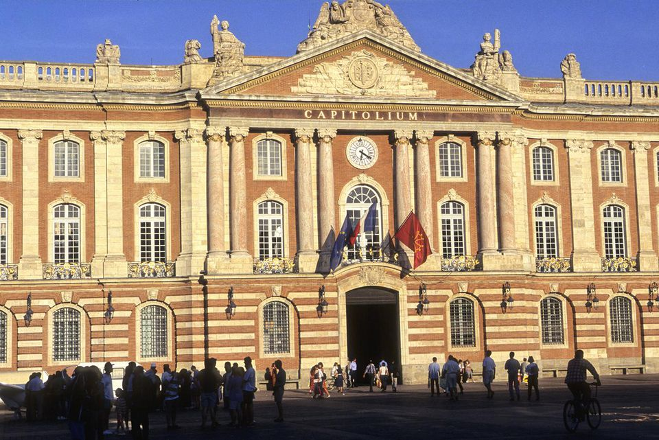 France, Midi-Pyrénées, Haute Garonne (31), Toulouse, le Capitole, city hall