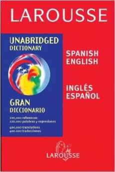 Diccionario Larousse english spanish