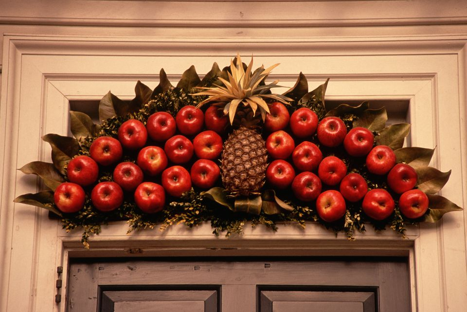 Image result for People are decorating pineapples instead of trees this Christmas