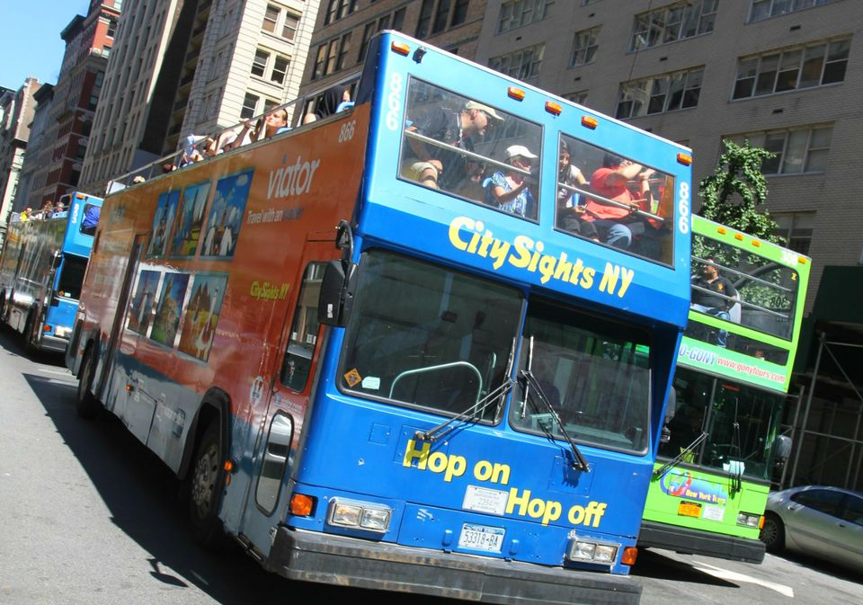 Doubledecker Hop On Hop Off Bus in NYC