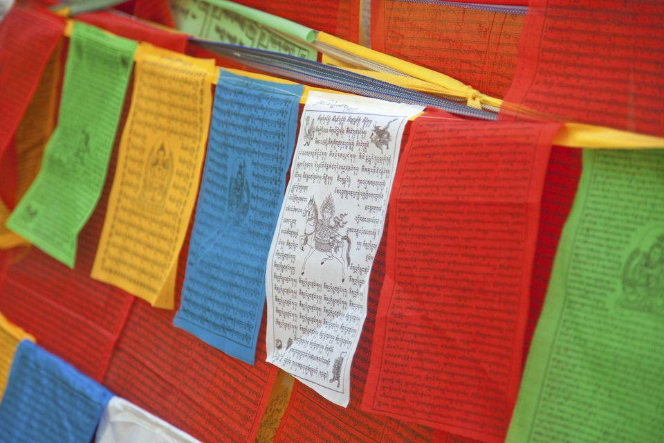 tibetan prayer flags and feng shui