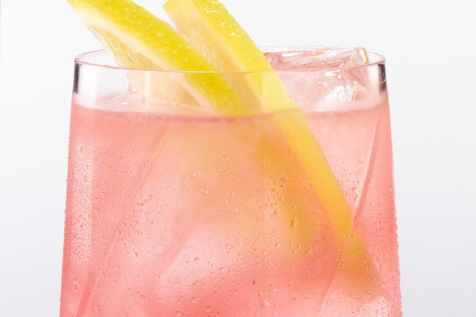 Cinderella Mocktail - Sparkling Fruit Juice Drink