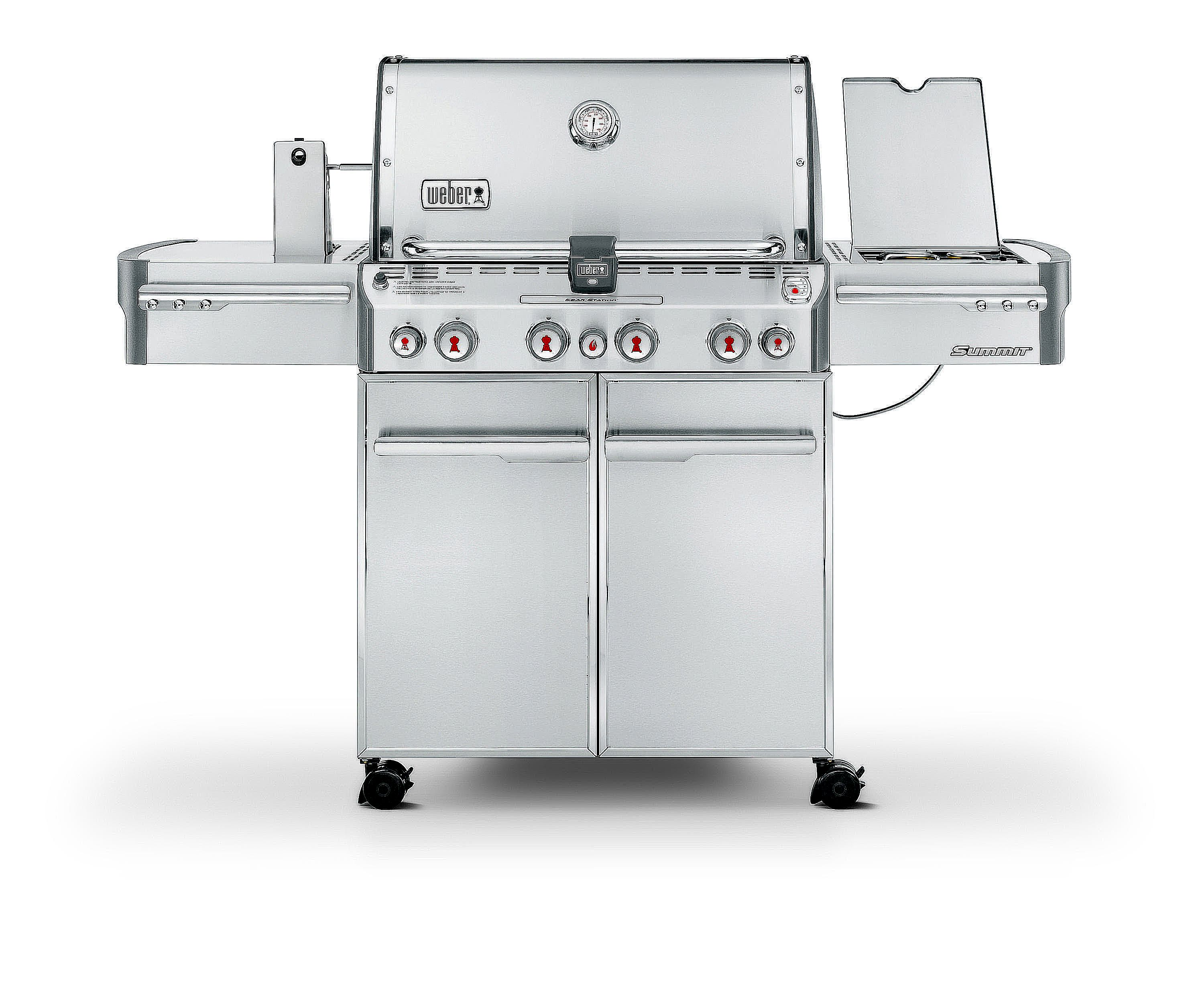 weber summit s 470 gas grill review