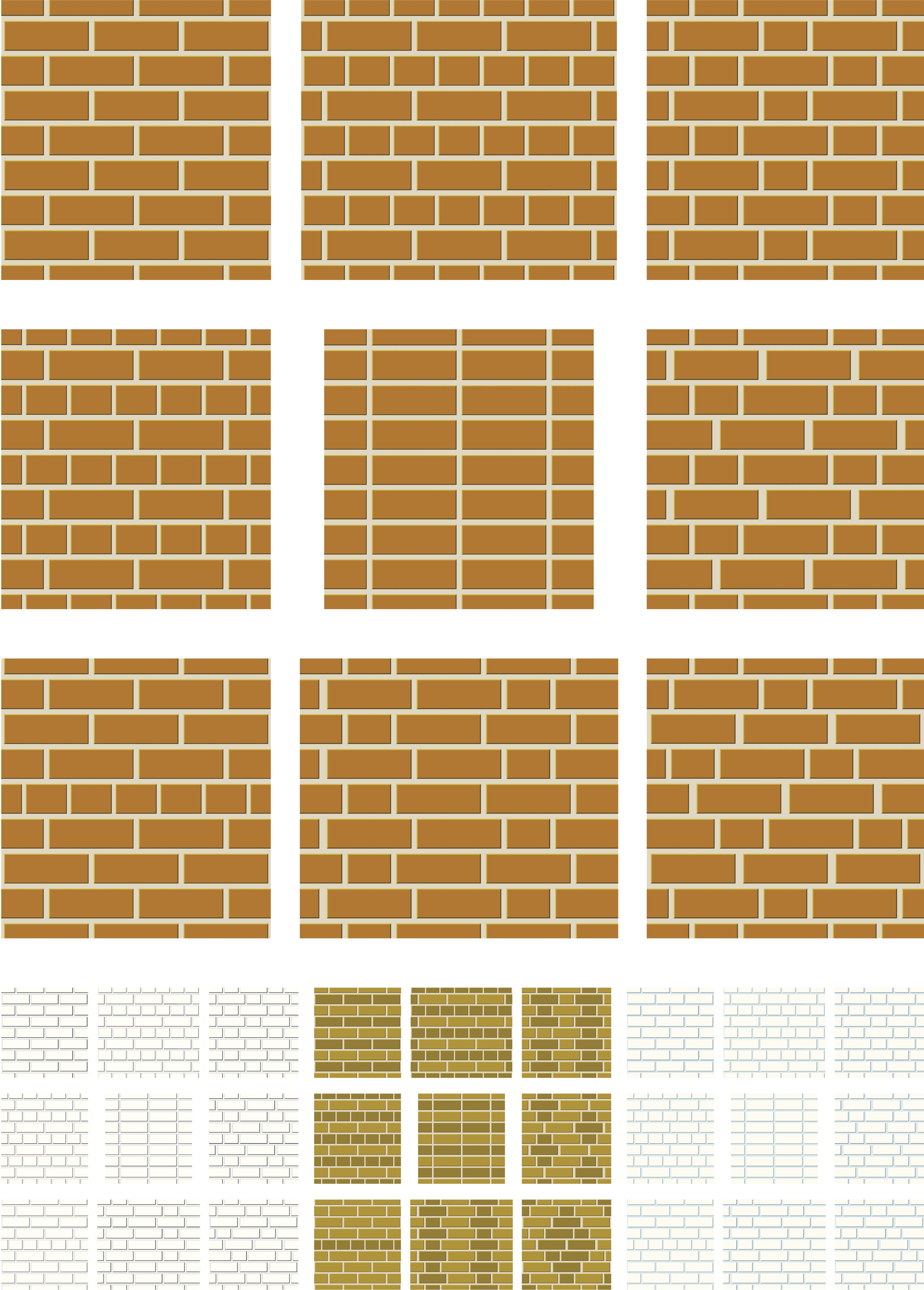 the basic brick patterns for patios and paths