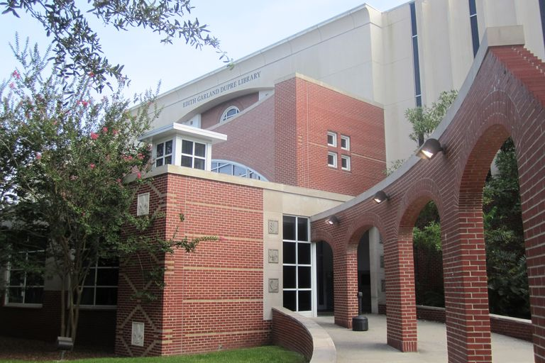 Dupre Library at the University of Louisiana Lafayette