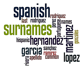 Spanish Surnames Meanings And Origins Of Hispanic Names