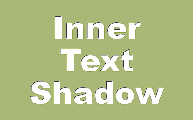 Inner Text Shadow in GIMP
