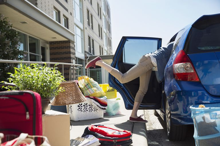 Moving into dorm