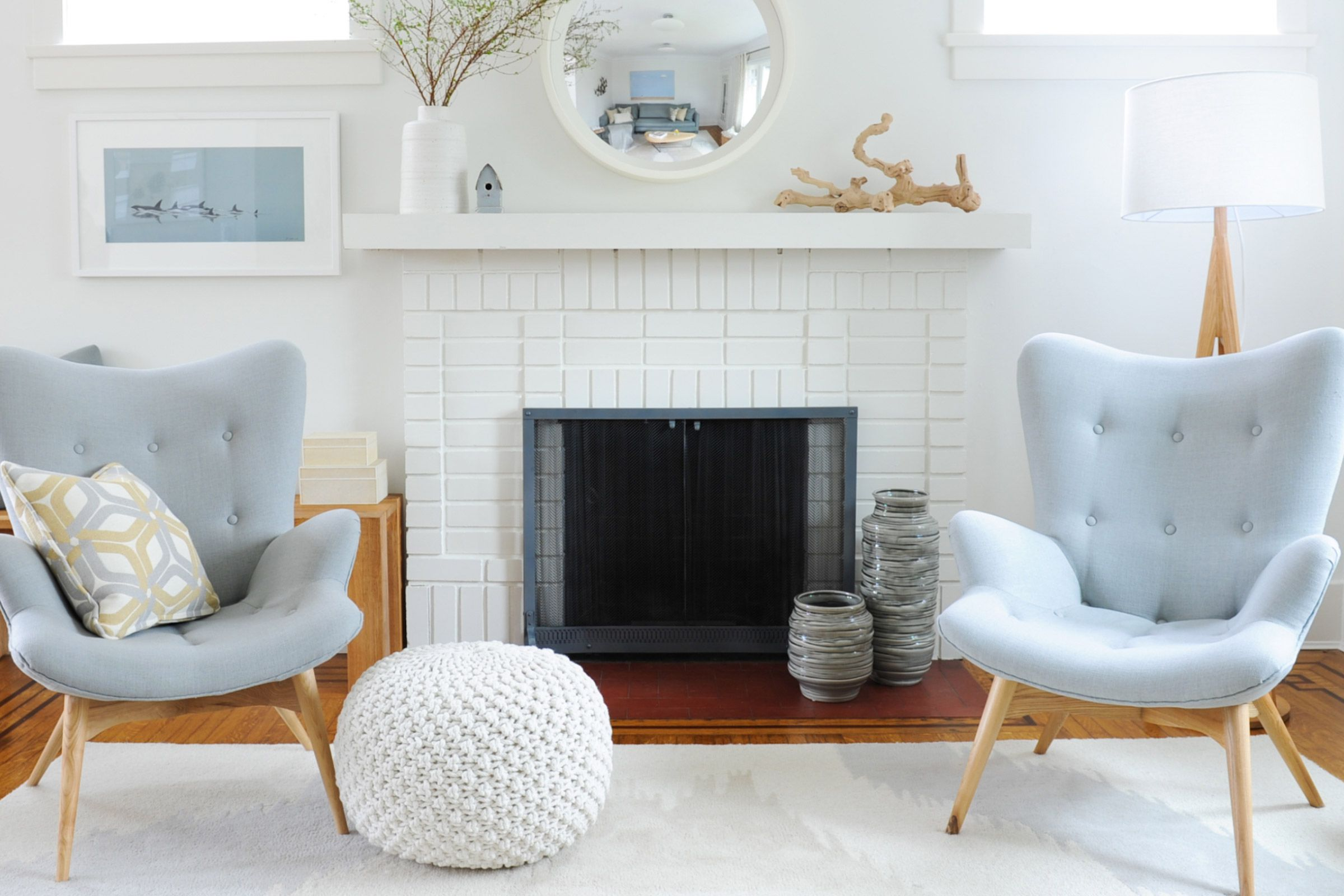5 Beautiful Accent Wall Ideas To Spruce Up Your Home: 32 Ways To Refresh A Brick Fireplace