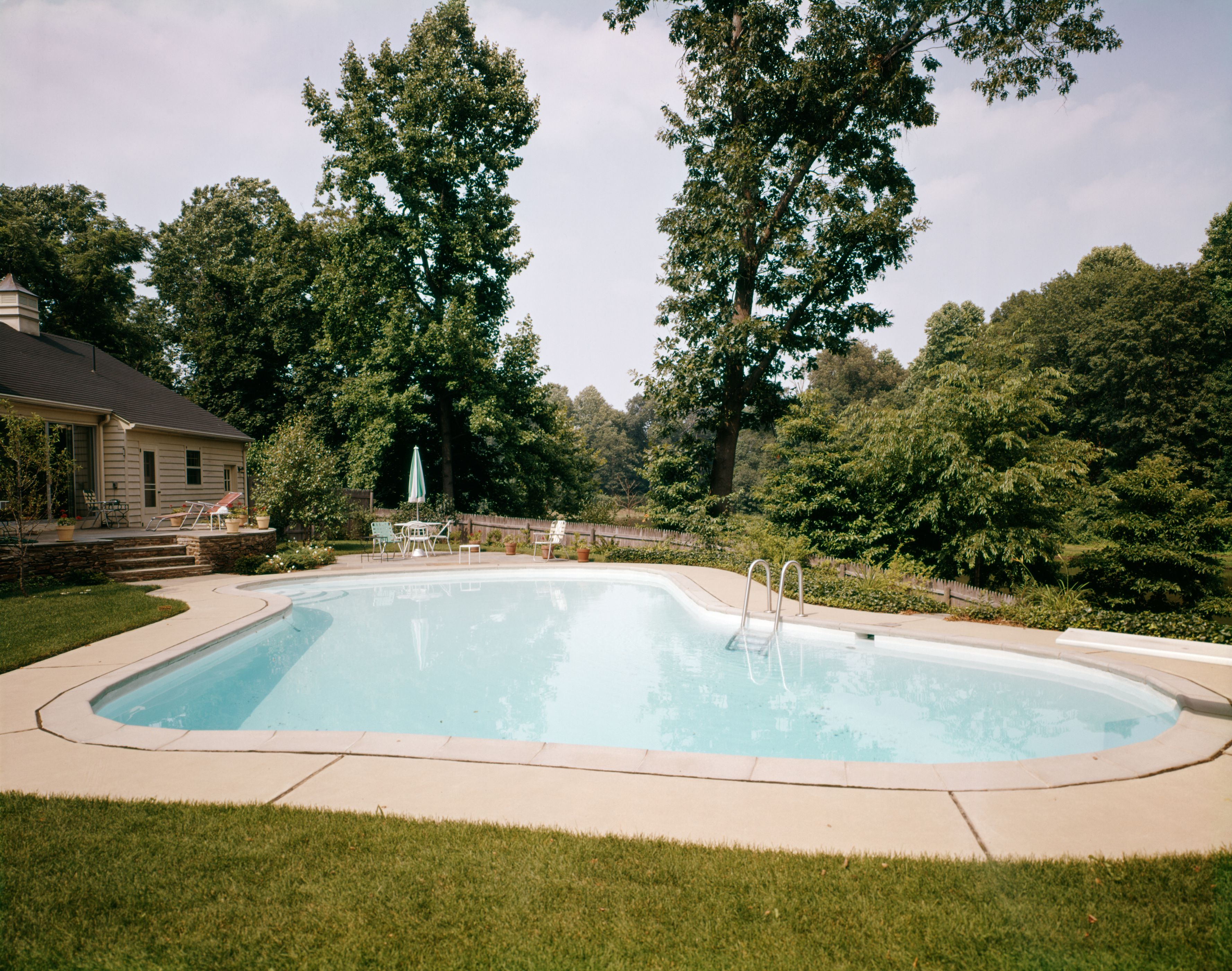 What to know about swimming pool stabilizer levels for Pool design 1970