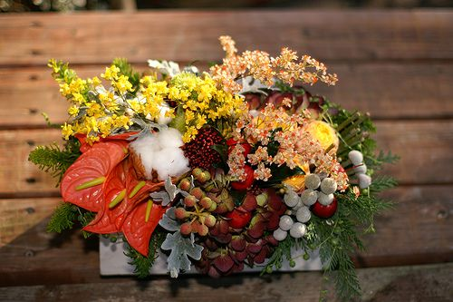 Christmas Flowers, Fresh and Fragrant