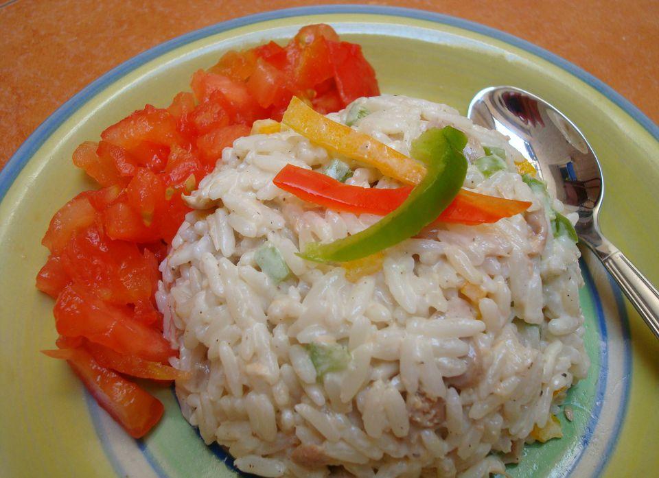 Moroccan Rice and Tuna Salad