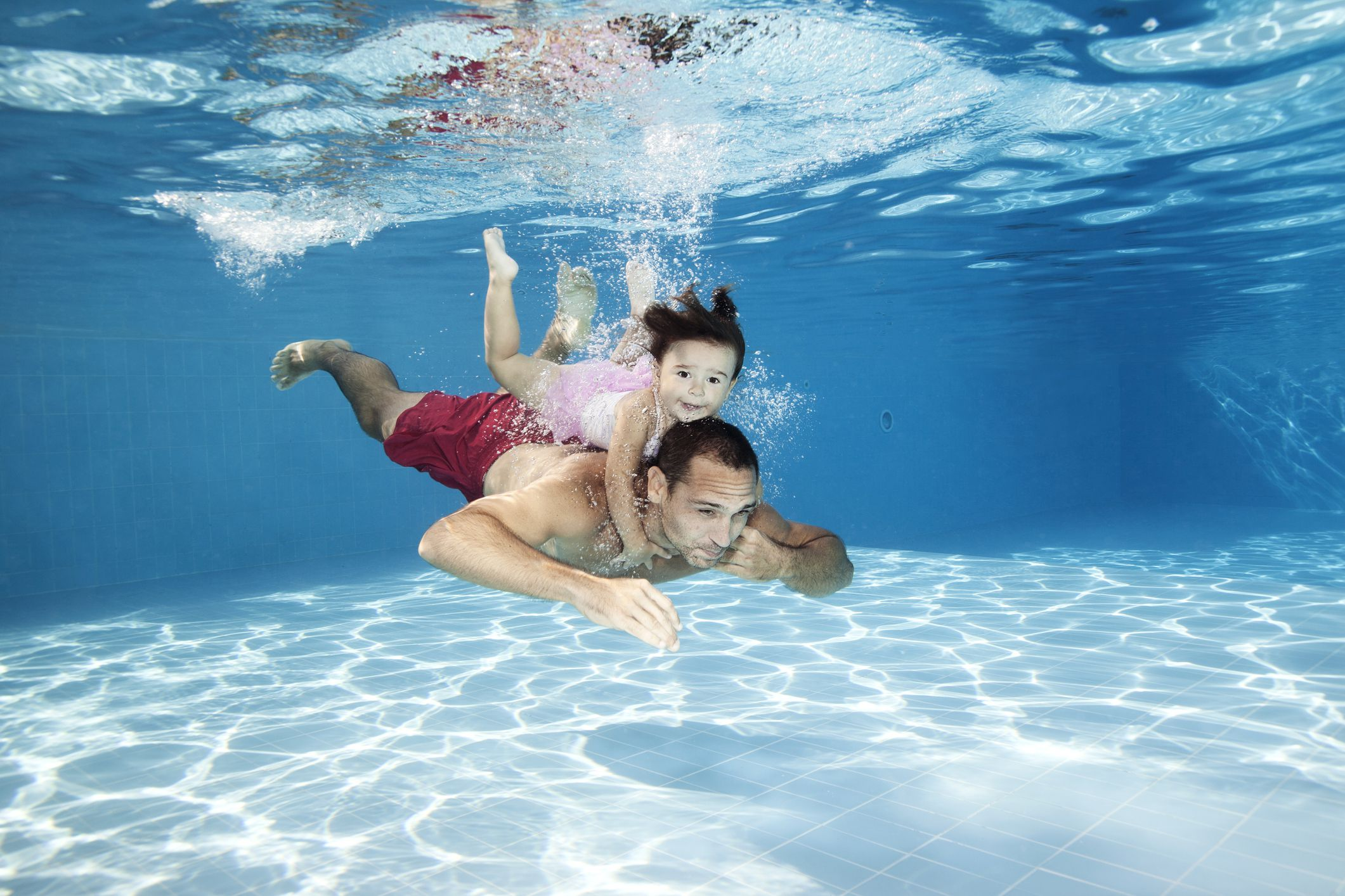 how quickly can your child learn to swim