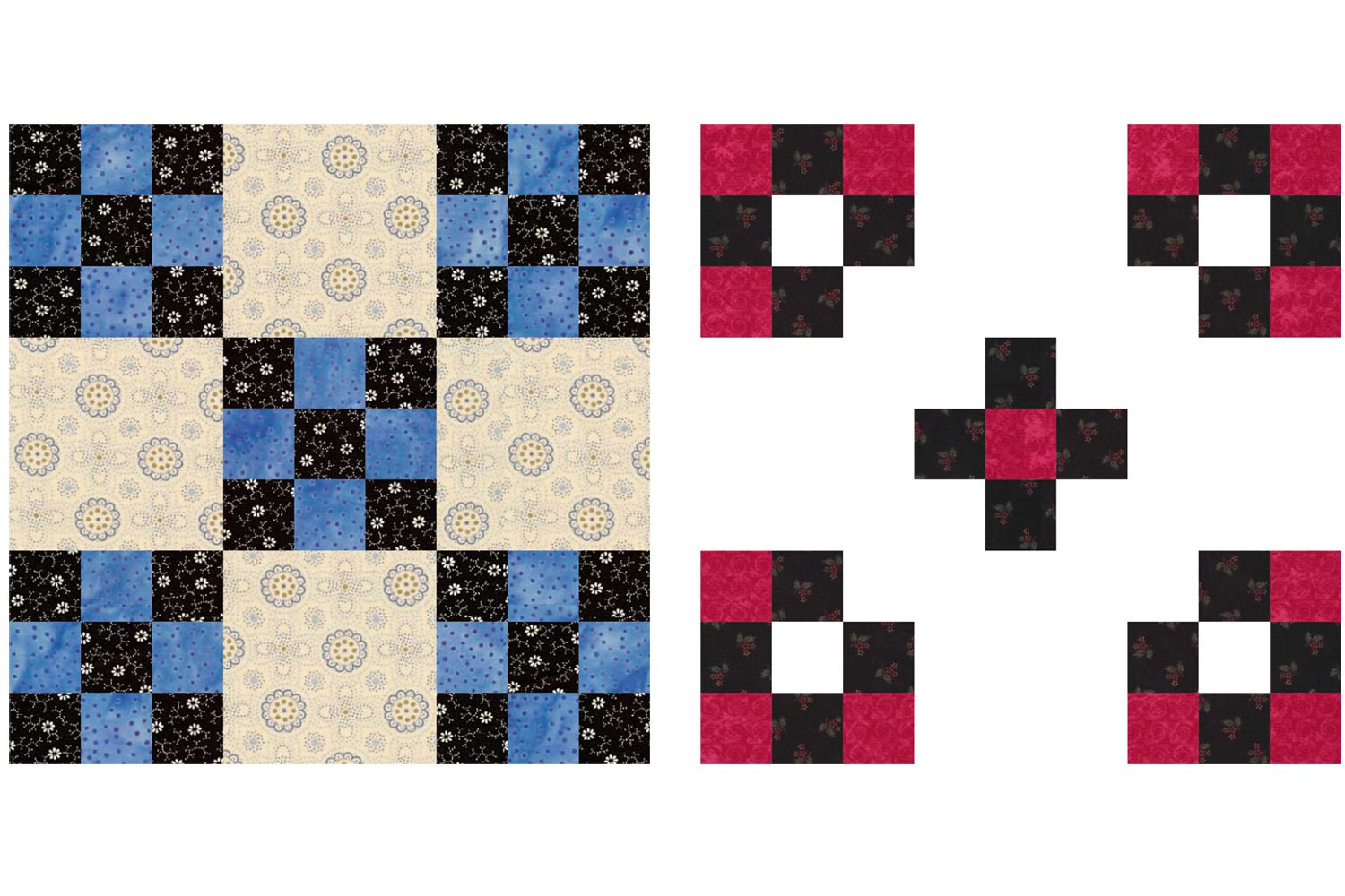 Nine Patch Quilt Block Patterns Simple to Complex : cross patch quilting - Adamdwight.com