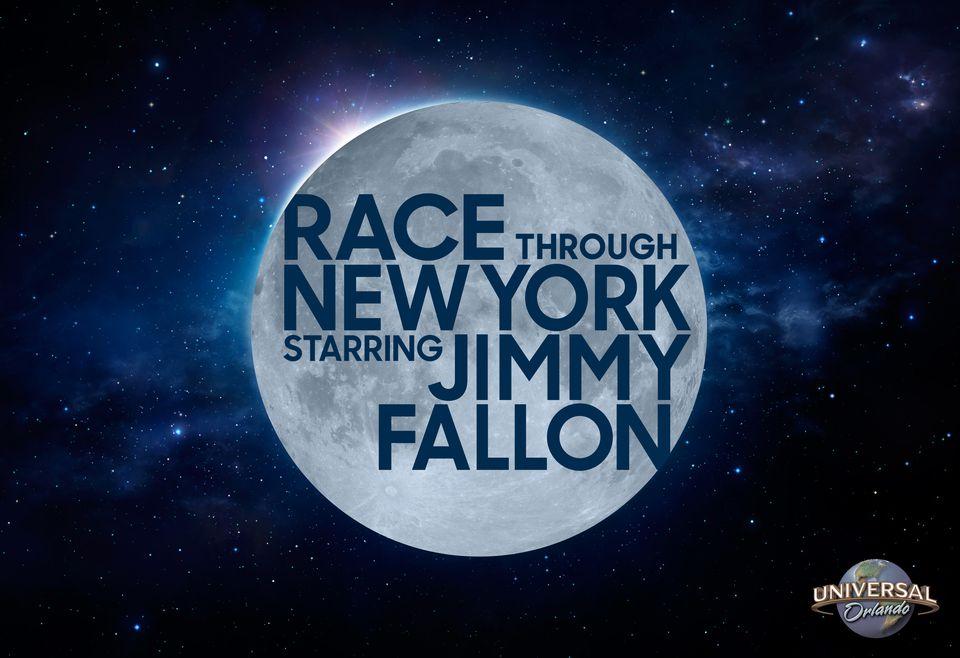 Race through New York Starring Jimmy Fallon at Universal Orlando