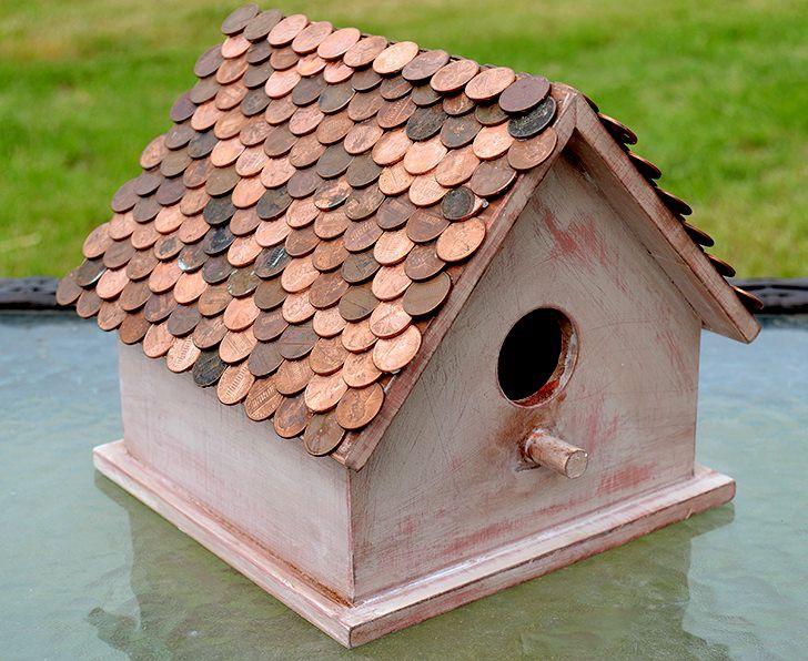 15 diy birdhouse plans and ideas diy birdhouse penny roof solutioingenieria Gallery
