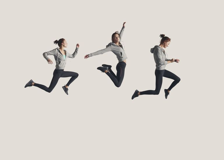 A Girl, Leaping