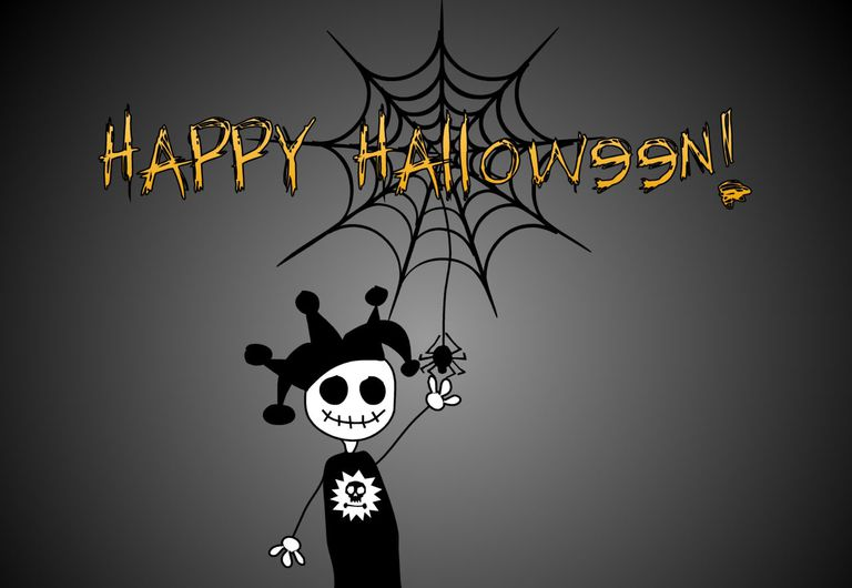 halloween jester by halloween wallpapers a creepy halloween jester - Creepy Halloween Wallpapers