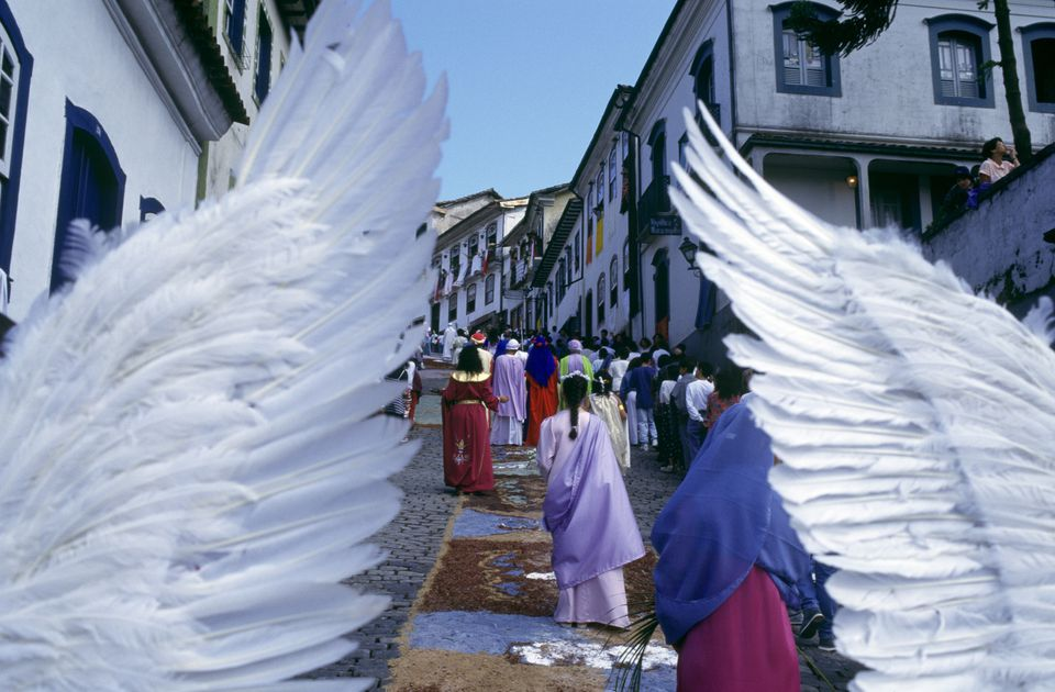 Easter procession in Brazil.
