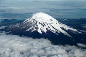 Chimborazo is a popular mountain for North American climbers to ascend, although few succeed.