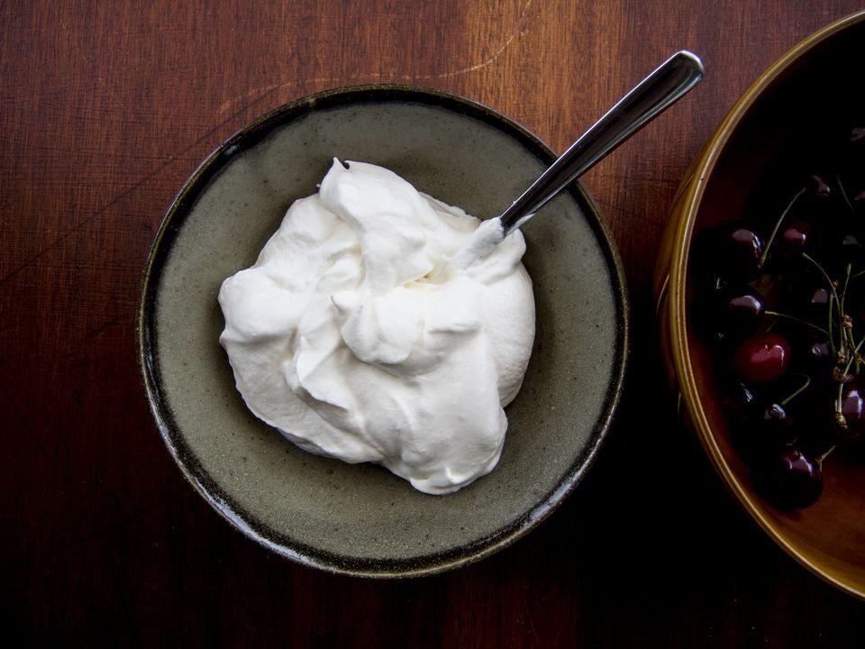 Cherries and Whipped cream