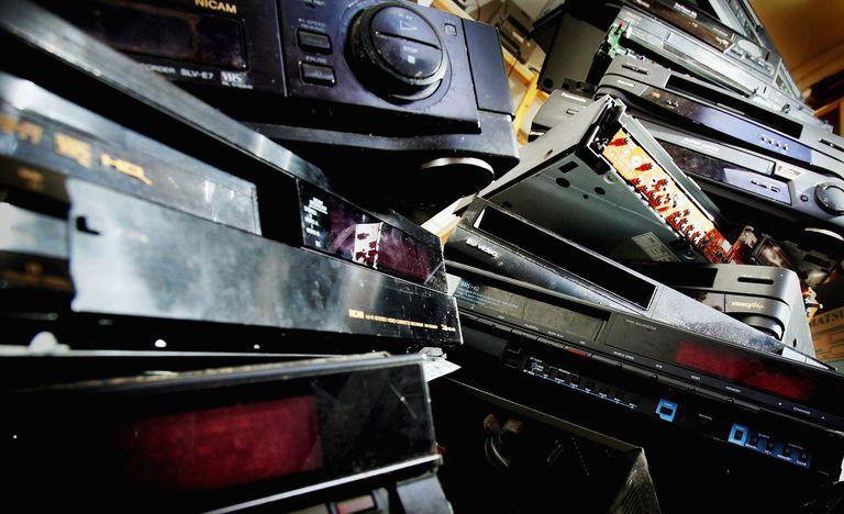 Variety of dvd recording equipment