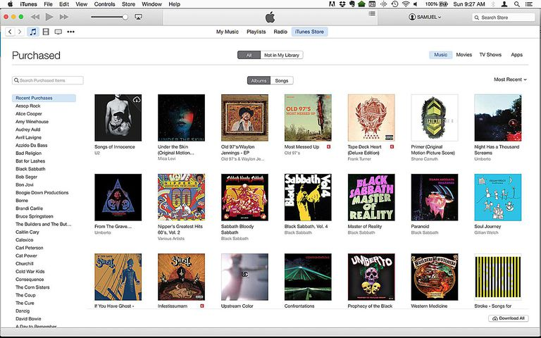 redownload music from itunes