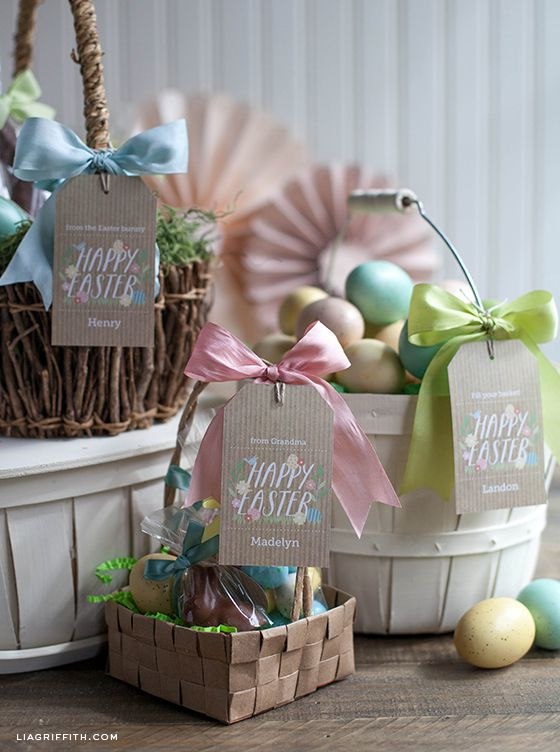 24 easter basket ideas we love how to personalize an easter basket negle Choice Image