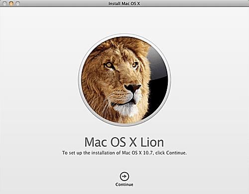Upgrade Install of Lion