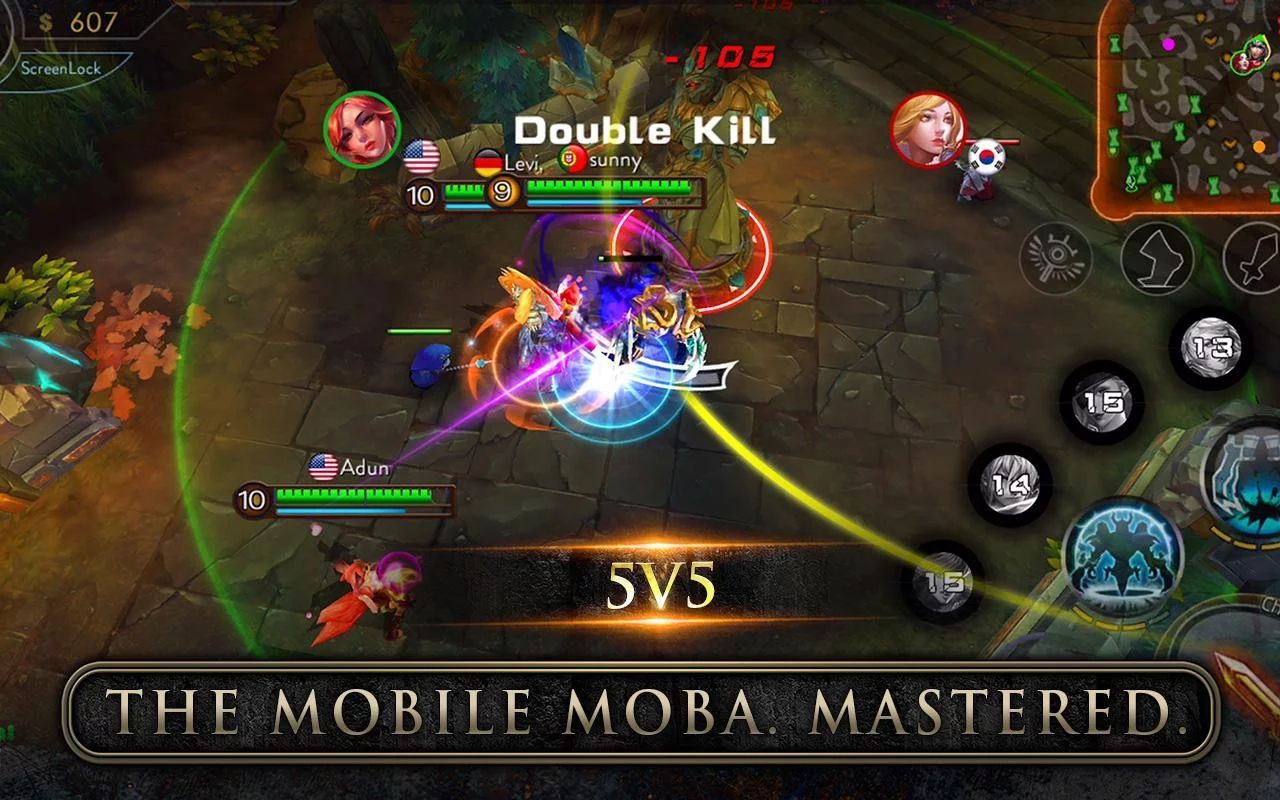 the best mobas for android