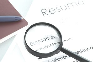 get some guidelines for what to include in a resume