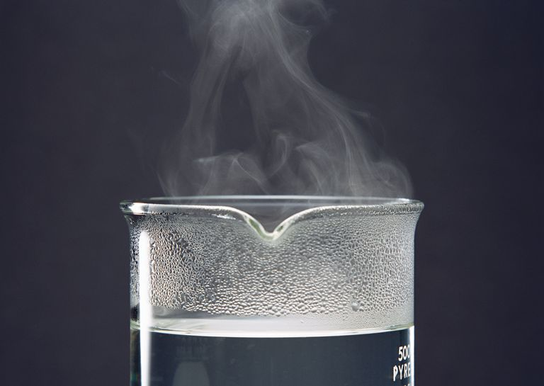 Vapor pressure is the pressure of the gas phase above a liquid.