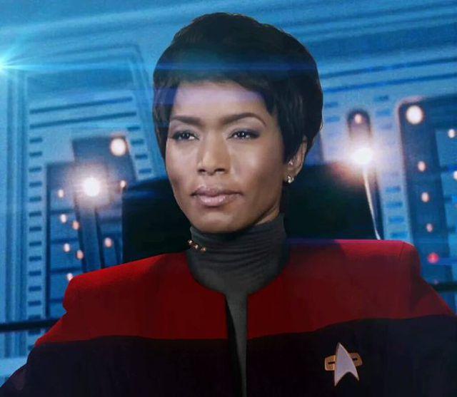 Angela Bassett as Star Trek Captain
