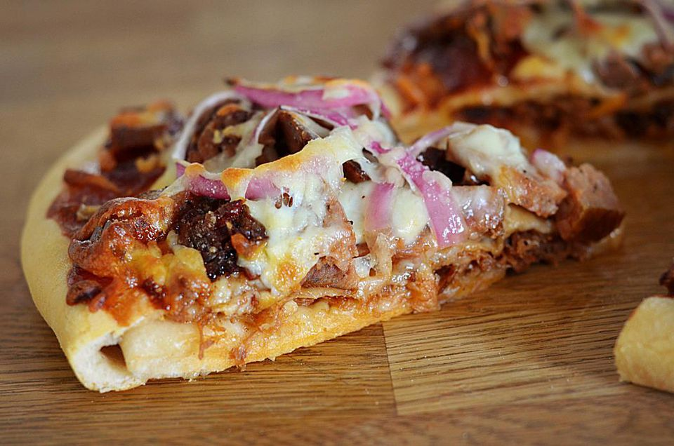The Ultimate Double Crust Barbecue Pizza