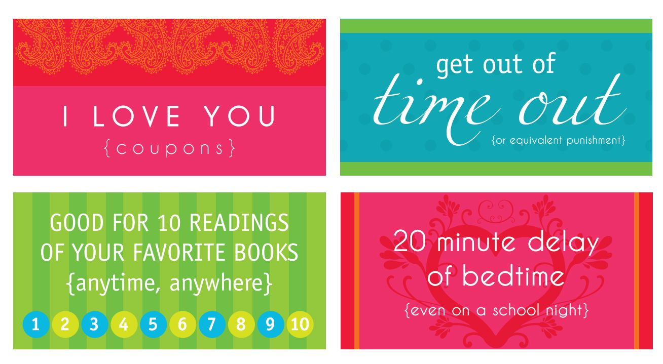 coupon book for boyfriend ideas