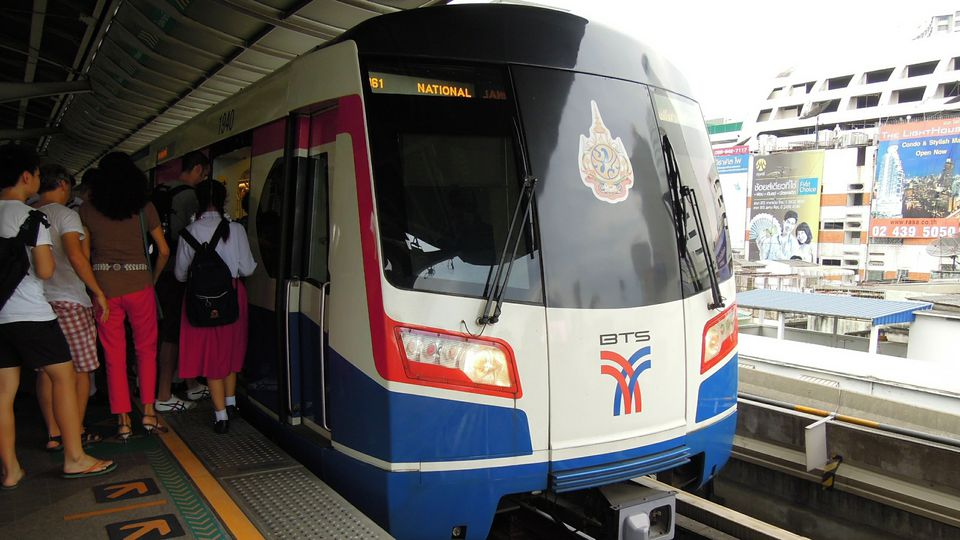 Bangkok BTS Skytrain
