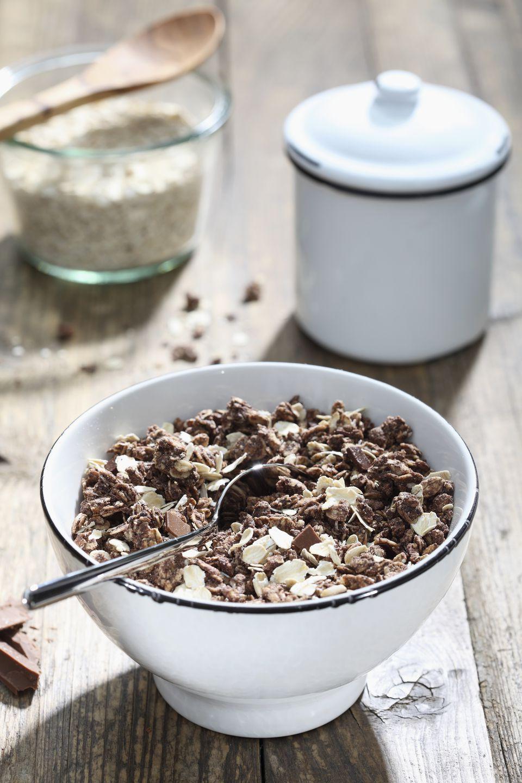 A Bowl of Chocolate Granola